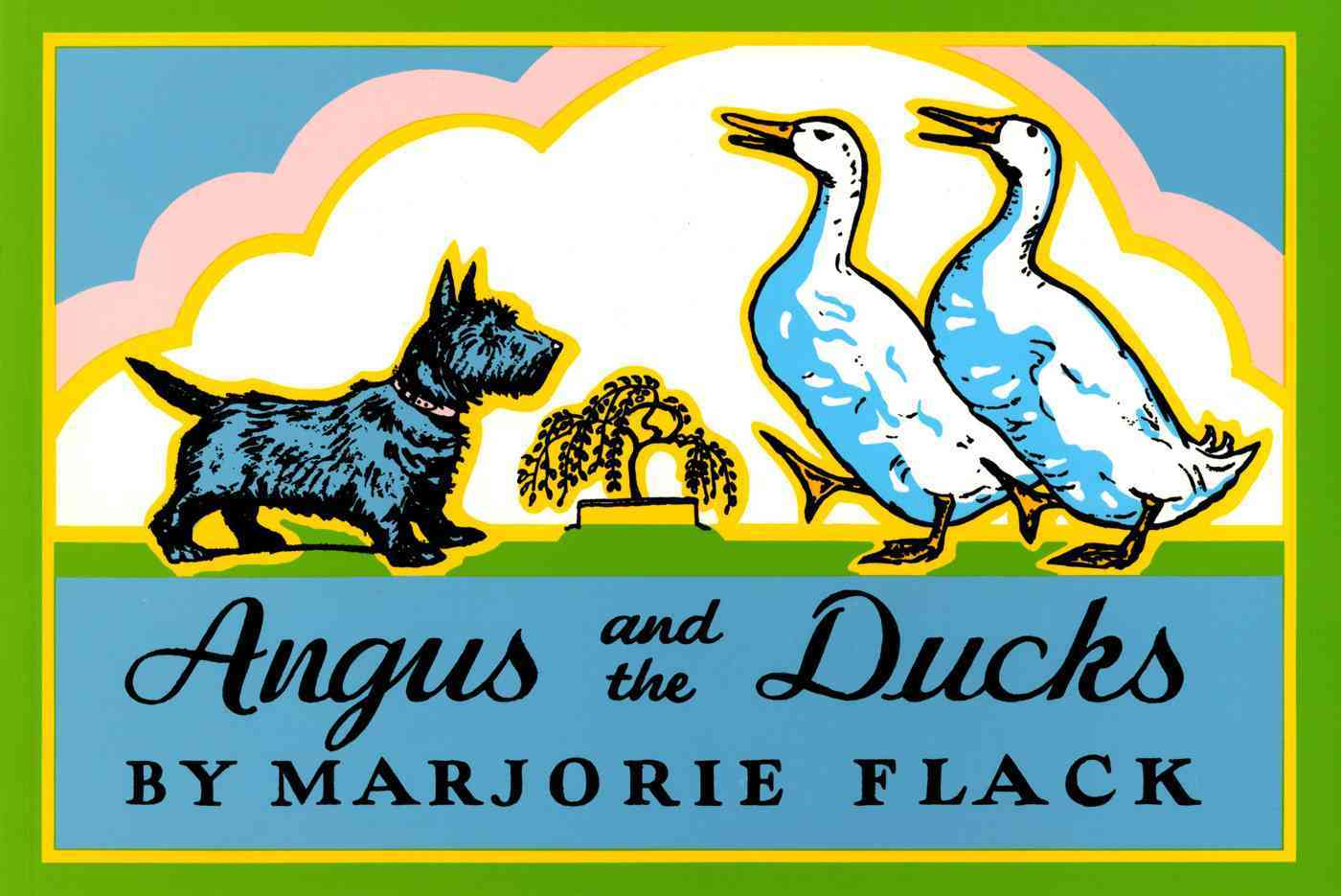 Angus and the Ducks By Flack, Marjorie